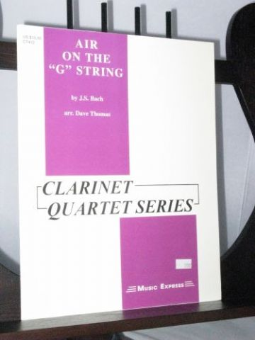 Bach J S - Air on the G String arr Thomas D